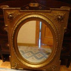 Espejo isabelino grande comprar espejos antiguos en - Espejos antiguos grandes ...