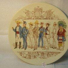 Antigüedades: PLATO SARREGUEMINES EXPOSICION UNIVERSAL PARIS 1889. Lote 26803358