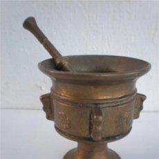 Antigüedades: MORTERO DE BRONCE. Lote 22781715