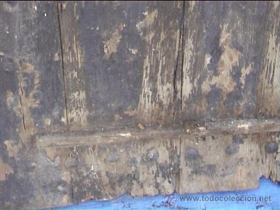 Antigüedades: ESPECTACULAR PUERTA PORTON MASIA CATALANA SXIX - Foto 5 - 22784740
