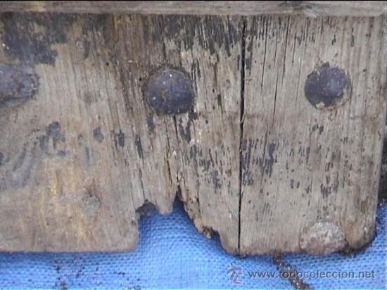 Antigüedades: ESPECTACULAR PUERTA PORTON MASIA CATALANA SXIX - Foto 6 - 22784740