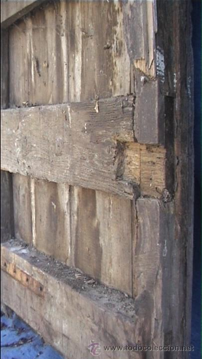 Antigüedades: ESPECTACULAR PUERTA PORTON MASIA CATALANA SXIX - Foto 18 - 22784740