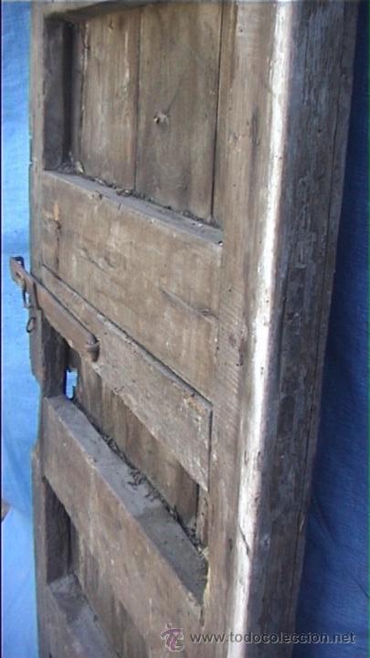 Antigüedades: ESPECTACULAR PUERTA PORTON MASIA CATALANA SXIX - Foto 19 - 22784740