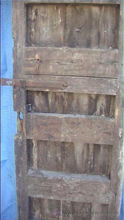 Antigüedades: ESPECTACULAR PUERTA PORTON MASIA CATALANA SXIX - Foto 20 - 22784740