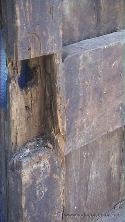 Antigüedades: ESPECTACULAR PUERTA PORTON MASIA CATALANA SXIX - Foto 21 - 22784740