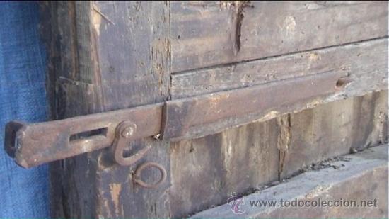 Antigüedades: ESPECTACULAR PUERTA PORTON MASIA CATALANA SXIX - Foto 22 - 22784740