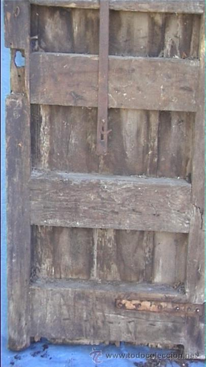 Antigüedades: ESPECTACULAR PUERTA PORTON MASIA CATALANA SXIX - Foto 23 - 22784740