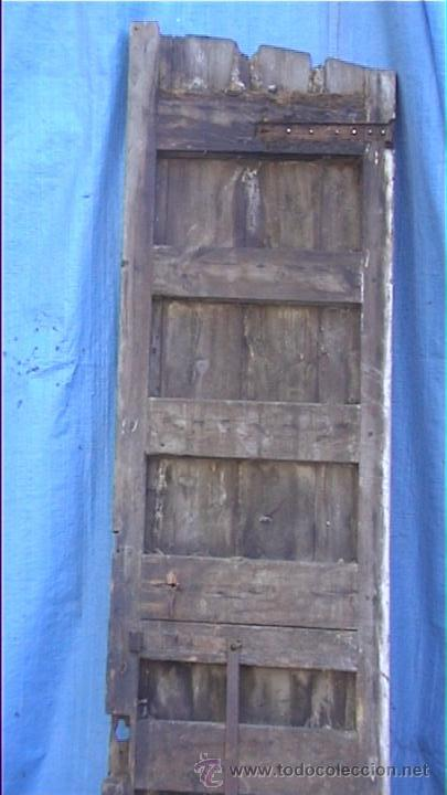 Antigüedades: ESPECTACULAR PUERTA PORTON MASIA CATALANA SXIX - Foto 24 - 22784740