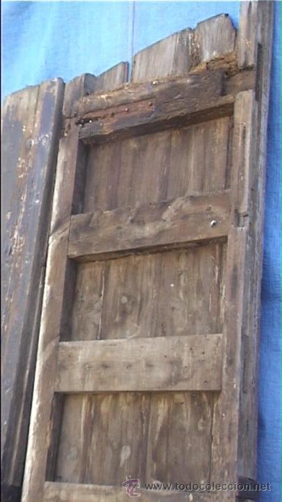 Antigüedades: ESPECTACULAR PUERTA PORTON MASIA CATALANA SXIX - Foto 25 - 22784740
