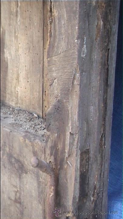 Antigüedades: ESPECTACULAR PUERTA PORTON MASIA CATALANA SXIX - Foto 27 - 22784740