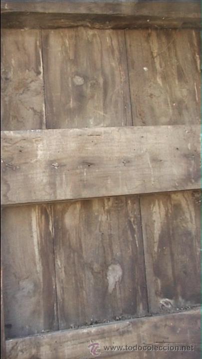 Antigüedades: ESPECTACULAR PUERTA PORTON MASIA CATALANA SXIX - Foto 29 - 22784740