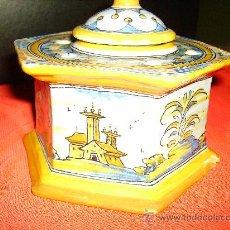 Antigüedades: CERAMICAS DE TALAVERA DE LA REINA , CERAMISTA RUIZ DE LUNA. Lote 25047875