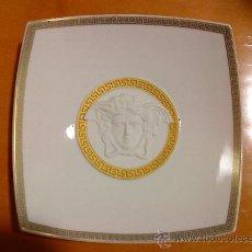 Antigüedades: VERSACE,PLATO DECORATIVO DE PORCELANA,AUTENTICO. Lote 24063224