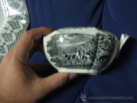AZUCARERO. FABRICA DE LA AMISTAD. SIGLO XIX. UNICO EN TC. (Antigüedades - Porcelanas y Cerámicas - Cartagena)