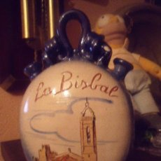 Antigüedades: PRECIOSO BOTIJO LA BISBAL. Lote 25648989
