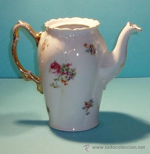 Cafetera de porcelana marca en la base k st t comprar for Marcas de porcelana