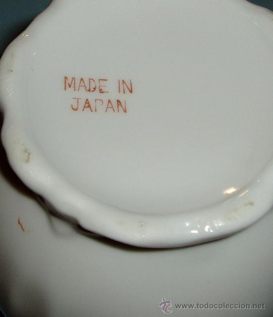 Antigüedades: TETERA DE PORCELANA. MARCA EN LA BASE MADE IN JAPAN. ALTURA 19 CM - Foto 3 - 24346466