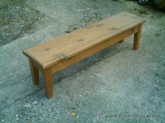 banco en madera de pino procede de antigua e - Comprar Sillas ...