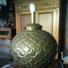 Antigüedades: LAMPARA DE SOBREMESA ART DECO. Lote 27240657