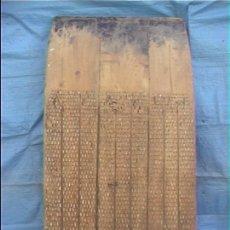 Antigüedades: TRILLO 94X82X180CM SXIX. Lote 23039706