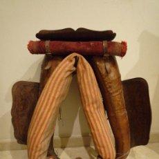 Antigüedades: PRECIOSO YUGO DE CUERO.. Lote 23988492