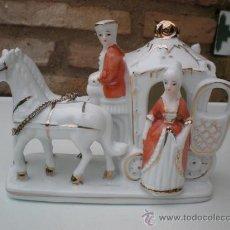 Antigüedades: FIGURA DE PORCELANA FIRMADA. Lote 23103299