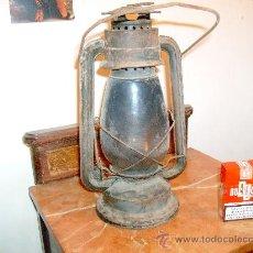 Antigüedades: LAMPARA ANTIGUA DE PETROLEO,. Lote 23114903
