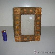 Antigüedades: PORTARETRATOS CON CRISTAL . Lote 27139032