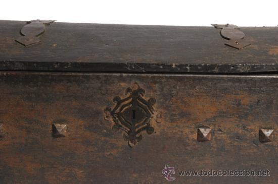Antigüedades: COFRE NOVIA - Foto 2 - 23149593