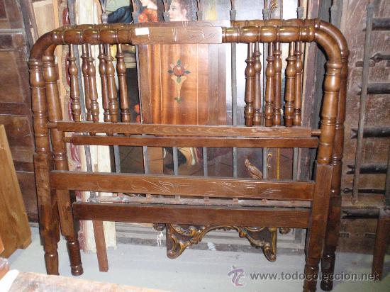 cabeceros antiguos de madera restaurados comprar camas