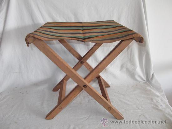 Antigua silla de playa a os 60 comprar sillas antiguas - Sillas anos 60 ...