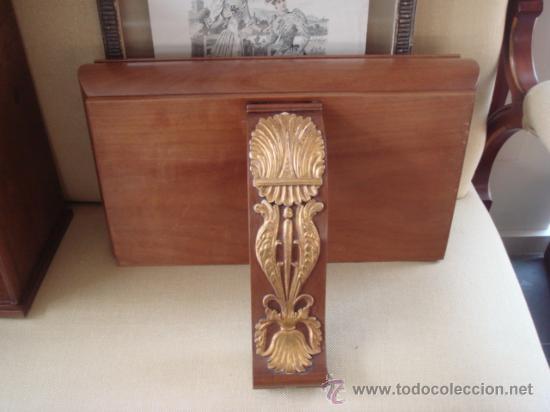 ANTIGUA REPISA -MESILLA PARA COLGAR , CON CAJÓN (Antigüedades - Muebles Antiguos - Repisas Antiguas)