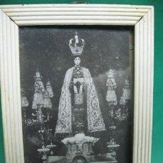 Antigüedades: VIRGEN NTRª SRª DEL CARMEN VENERADA EN RUBIELOS DE MORA, TERUEL. PP.SG.XX. MIDE 16 X 11 CM.. Lote 23201189
