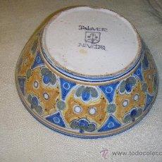 Antigüedades: CUENCO DE CERAMICA DE NIVEIRO DE PPS. SIGLO XX. Lote 27346845
