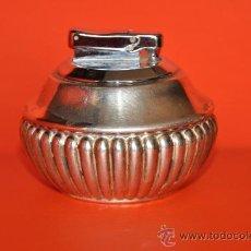 Antigüedades: ENCENDEDOR DE PLATA DE PEDRO DURAN FIRMADO Y CONTRASTADO EN PLATA 925 CON 68 GR.. Lote 27372220