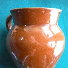 Antigüedades: JARRA DE BARRO VIDRIADO. Lote 23290436