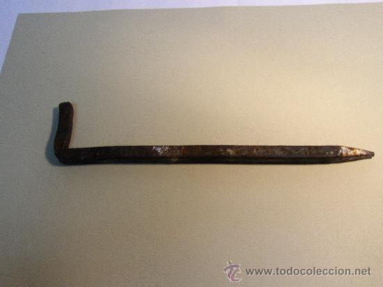 ALCAYATA DE HIERRO FORJADO. (Antigüedades - Varios)