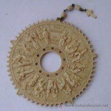 Antigüedades: INTERESANTE VIA CRUSIS -CELULOIDE RIGIDO. Lote 23283575