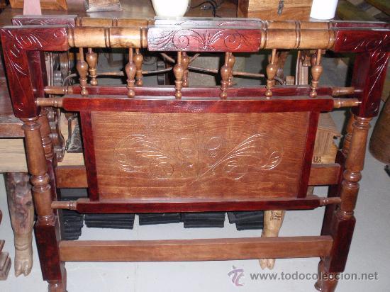 Cabeceros antiguos de madera restaurados comprar camas - Muebles antiguos de madera ...