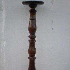 Antigüedades: COLUNNA DE NOGAL. Lote 23320970