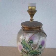 Antigüedades: LAMPARA DE CERAMICA. Lote 23321195