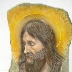 Antigüedades: CRISTO N MADERA Y TERRACOTA. Lote 23343240