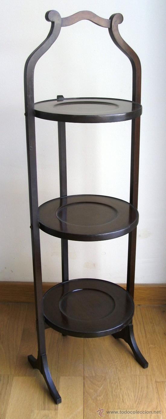 Mueble auxiliar ingles mesita plegable de 3 pi comprar for Mueble auxiliar alto