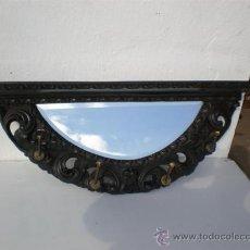 Antigüedades: PERCHERO, ESTANTE ESTILO ESPAÑOL. Lote 23529131