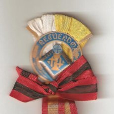Antigüedades: 1 DISTINTIVO XXXV CONGRESO EUCARISTICO INTERNACIONAL-BARCELONA EN 1952 SIENDO PAPA PIO XII. Lote 23699575