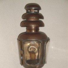 Antigüedades: FAROL DE COCHE DE CABALLOS. Lote 23586077