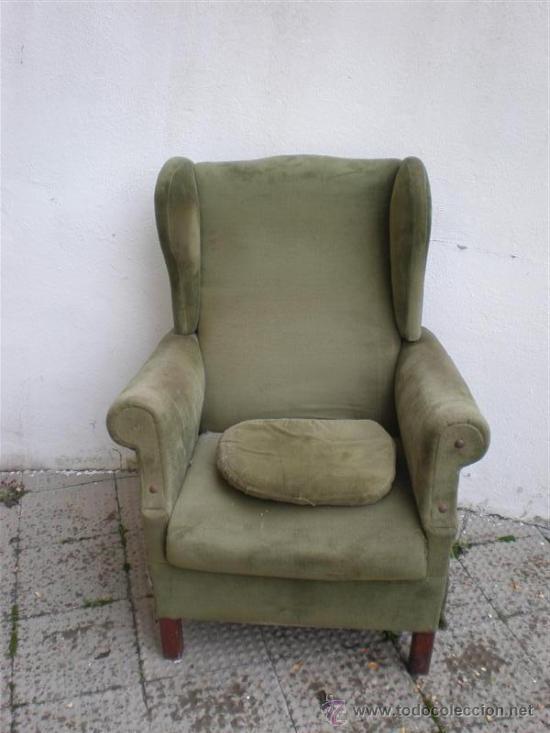 Sillon orejero y mecedora antiguo comprar sillones - Comprar sillon orejero ...