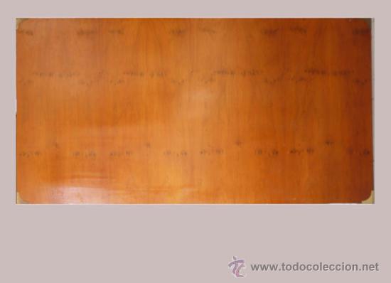 CABECERO CAMA DE MADERA,ESTILO BARCO (Antigüedades - Muebles Antiguos - Camas Antiguas)
