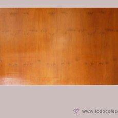 Antigüedades: CABECERO CAMA DE MADERA,ESTILO BARCO. Lote 26476124