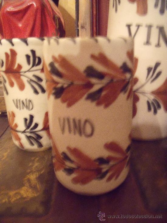 Antigüedades: JUEGO DE VINO TALAVERA - Foto 3 - 26618300